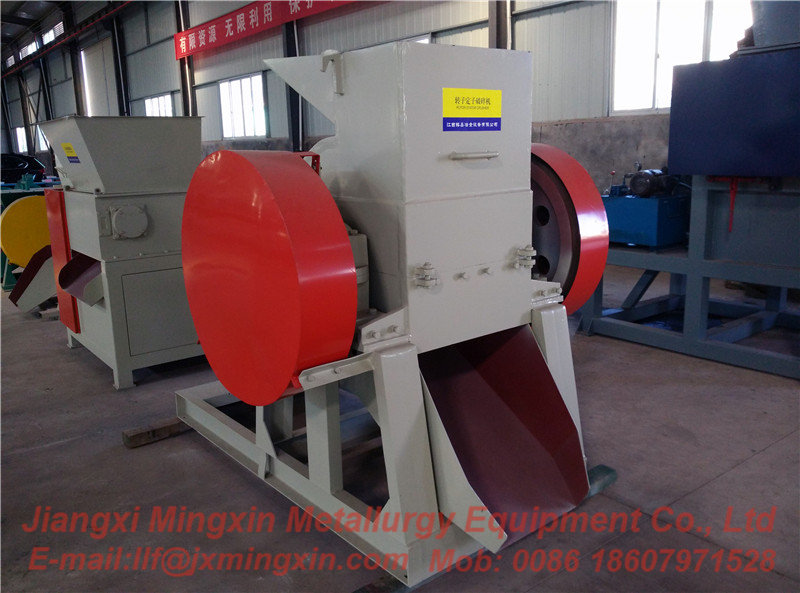 Rotor and stator crusher
