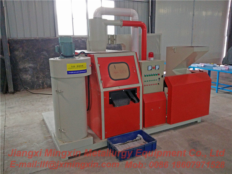 Turnkey Compact Copper Wire Granulator
