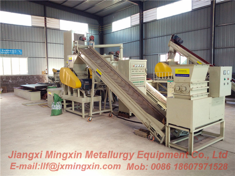 Water & wind process 3rd generation Copper wire Recycling machine